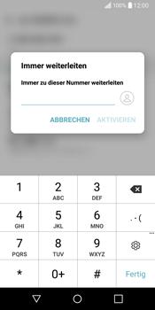 LG Q6 - Anrufe - Rufumleitungen setzen und löschen - Schritt 8