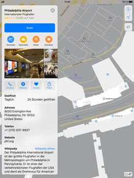 Apple iPad Air 2 - iOS 11 - Indoor-Karten (Einkaufszentren/Flughäfen) - 10 / 12