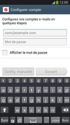 Samsung Galaxy S 4 Active - E-mail - configuration manuelle - Étape 5
