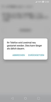 LG G6 - Fehlerbehebung - Handy zurücksetzen - 10 / 12