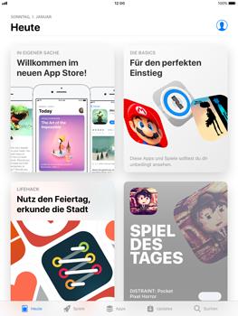 Apple iPad mini 2 - Apps - Löschen und wiederherstellen von vorinstallierten iOS-Apps - 0 / 0