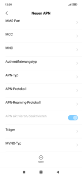 Xiaomi RedMi Note 7 - MMS - Manuelle Konfiguration - Schritt 12