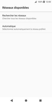 Sony Xperia XZ2 - Réseau - Sélection manuelle du réseau - Étape 7