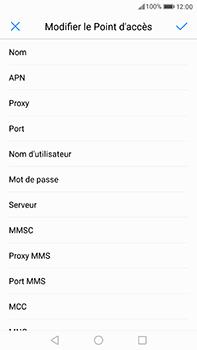 Huawei P10 Plus - Internet et roaming de données - Configuration manuelle - Étape 9