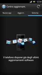 Sony Xperia U - Software - Installazione degli aggiornamenti software - Fase 8