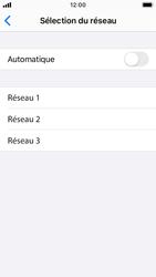 Apple iPhone SE - iOS 13 - Réseau - Sélection manuelle du réseau - Étape 6