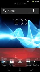 Sony Xperia T - Operazioni iniziali - Installazione di widget e applicazioni nella schermata iniziale - Fase 8
