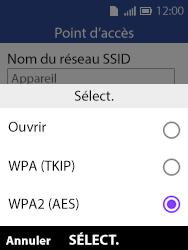 Alcatel 3088X - Internet et connexion - Partager votre connexion en Wi-Fi - Étape 8