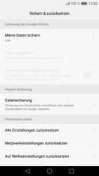 Huawei P9 - Fehlerbehebung - Handy zurücksetzen - Schritt 8