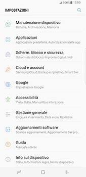 Samsung Galaxy S8 Plus - Software - Installazione degli aggiornamenti software - Fase 5