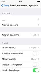 Apple iPhone 5c - e-mail - handmatig instellen - stap 15