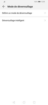 Huawei P Smart Z - Sécuriser votre mobile - Activer le code de verrouillage - Étape 5