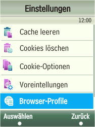 Samsung F480-TouchWiz - Internet - Manuelle Konfiguration - Schritt 6