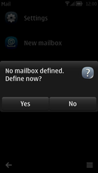 Nokia 700 - Email - Manual configuration - Step 4