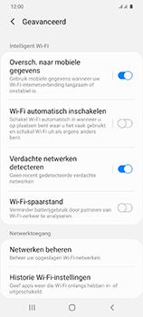 Samsung Galaxy S20 - wifi - schakel Wi-Fi Assistentie uit - stap 10