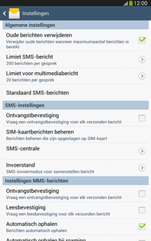Samsung T315 Galaxy Tab 3 8-0 LTE - SMS - SMS-centrale instellen - Stap 6