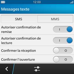 BlackBerry Q10 - Premiers pas - Configurer l