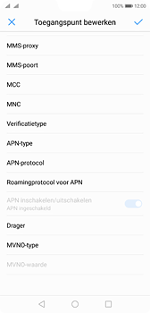 Huawei P20 - MMS - Handmatig instellen - Stap 11
