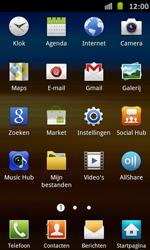 Samsung I9070 Galaxy S Advance - Voicemail - handmatig instellen - Stap 4