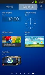 Samsung Galaxy Trend Lite - Startanleitung - Installieren von Widgets und Apps auf der Startseite - Schritt 7