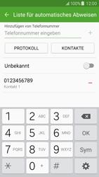 Samsung J500F Galaxy J5 - Anrufe - Anrufe blockieren - Schritt 11