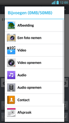 LG P760 Optimus L9 - e-mail - hoe te versturen - stap 11