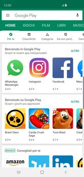 Samsung Galaxy S10 - Applicazioni - Come verificare la disponibilità di aggiornamenti per l