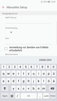 Samsung G928F Galaxy S6 edge+ - Android M - E-Mail - Konto einrichten - Schritt 13