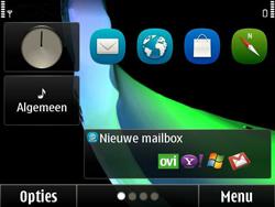 Nokia E6-00 - e-mail - handmatig instellen - stap 1