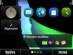 Nokia E6-00 - Buitenland - Bellen, sms en internet - Stap 1