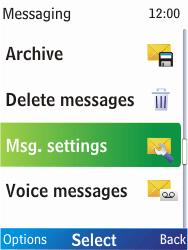 Nokia X2-00 - SMS - Manual configuration - Step 5