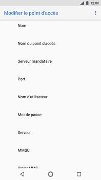 Nokia 6 (2018) - Internet - configuration manuelle - Étape 12