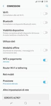 Samsung Galaxy S8 Plus - WiFi - Configurazione WiFi - Fase 5