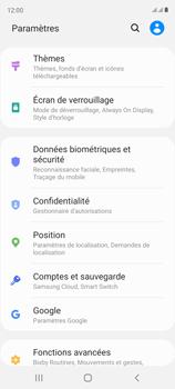Samsung Galaxy S20 FE - Sécuriser votre mobile - Personnaliser le code PIN de votre carte SIM - Étape 4