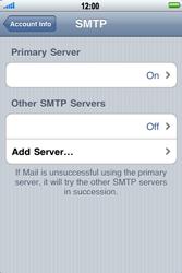 Apple iPhone 4 - E-mail - Manual configuration - Step 13