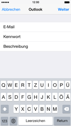 Apple iPhone 5s - E-Mail - Konto einrichten (outlook) - Schritt 7