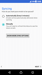Sony Xperia XZ (F8331) - Android Nougat - E-mail - Manual configuration (yahoo) - Step 10