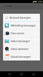 Sony LT30p Xperia T - e-mail - hoe te versturen - stap 10