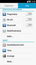 Huawei Ascend Y530 - WLAN - Manuelle Konfiguration - Schritt 3