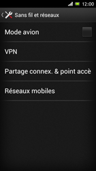 Sony Xperia J - Réseau - Sélection manuelle du réseau - Étape 5