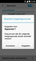Huawei Ascend Y330 - Bluetooth - Headset, carkit verbinding - Stap 7