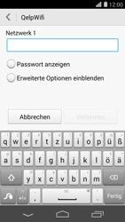 Huawei Ascend P7 - WLAN - Manuelle Konfiguration - Schritt 7
