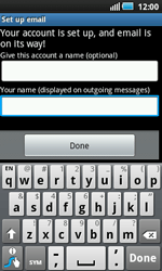 Samsung I5800 Galaxy Apollo - E-mail - Manual configuration - Step 11