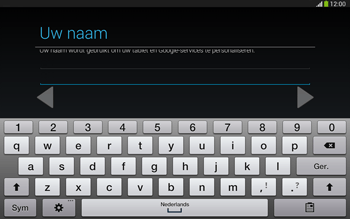 Samsung P5220 Galaxy Tab 3 10-1 LTE - Applicaties - Account aanmaken - Stap 6
