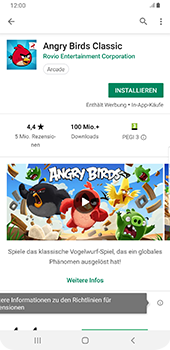Samsung Galaxy S9 Plus - Apps - Herunterladen - 16 / 18