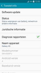 Samsung A500FU Galaxy A5 - software - update installeren zonder pc - stap 5