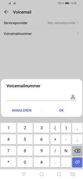 Huawei P30 Lite - Voicemail - handmatig instellen - Stap 9
