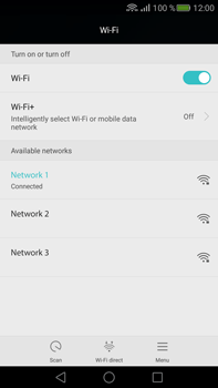 Huawei Mate S - Wi-Fi - Connect to Wi-Fi network - Step 7