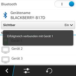 BlackBerry Q5 - Bluetooth - Geräte koppeln - 11 / 12