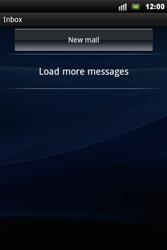 Sony Xperia Mini Pro - E-mail - Sending emails - Step 11